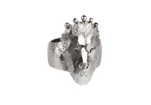 Michi Roman Michi Roman - Lion Ring - Silver