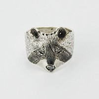 Michi Roman - Racoon Ring - Sterling Silver