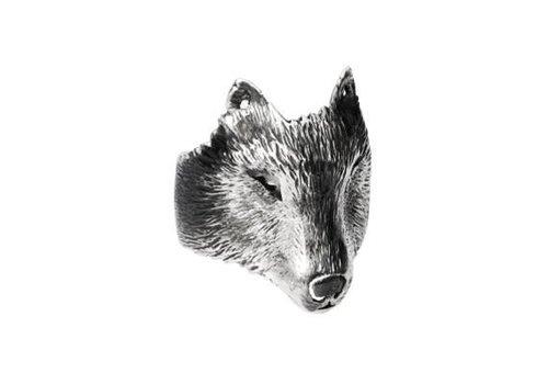 Michi Roman Michi Roman - Wolf Ring - Silver