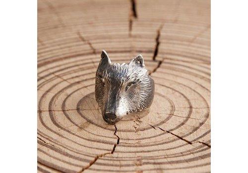 Michi Roman Michi Roman - Wolf Ring - Sterling Silver