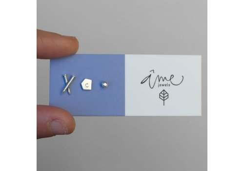 Âme âme - Set of Three Stud Earrings #1