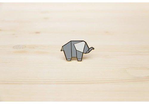 Hug a Porcupine Hug a Porcupine - Elephant Brooch