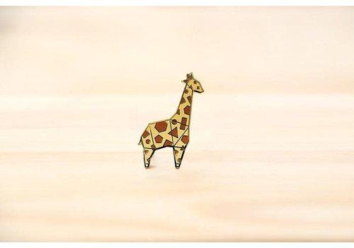 Hug a Porcupine Hug a Porcupine - Giraffe Brooch