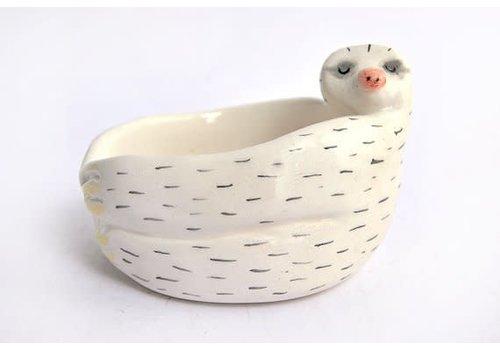 Barruntando Barruntando - Baby Sloth - Ceramic Bowl