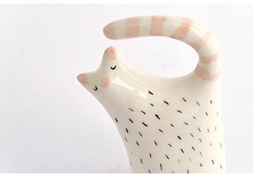Barruntando Barruntando - Cat - Ceramic Figure