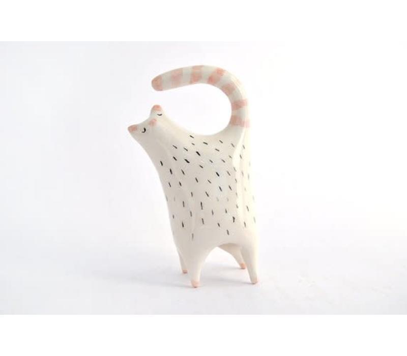 Barruntando - Cat - Ceramic Figure