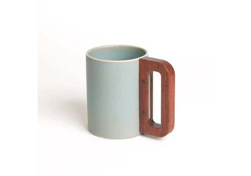 Matimanana Matimañana - Sky Mug with Wooden Handle