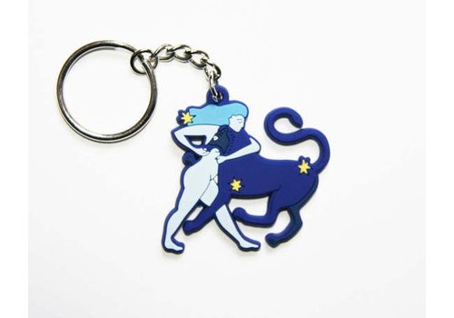 Lisa Junius Lisa Junius - The Girl and The Lion Keychain