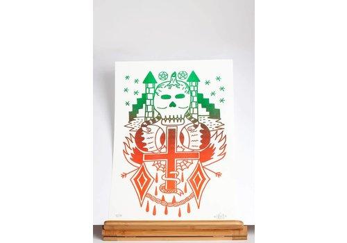 zosen Zosen - Necrosis - A3 Print