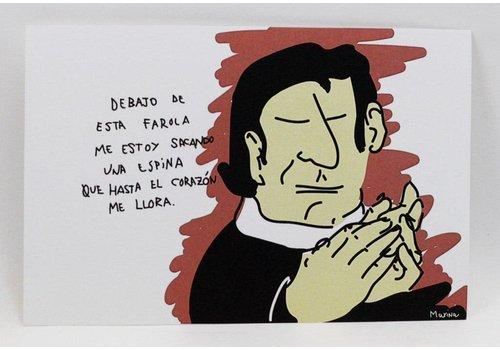 Marina Seijas Marina Seijas - Enrique Morente - Print A5