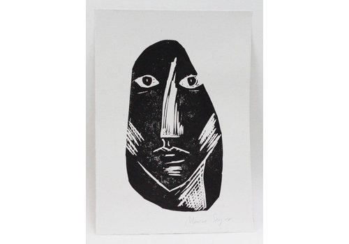 Marina Seijas Marina Seijas - Lino Face - Print A5