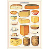 Cavallini Papers & Co Cavallini - Cheese - Wrap/Poster