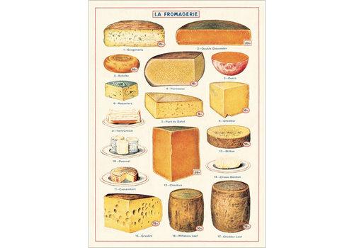 Cavallini Cavallini - Cheese - Wrap/Poster