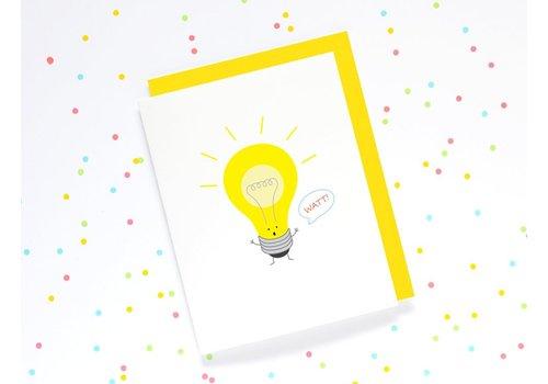 Queenie's Cards Queenie's - Lightbulb