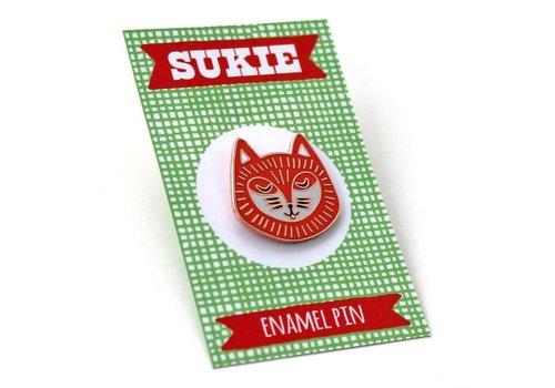Sukie Sukie - Mrs Foxpaws - Pin
