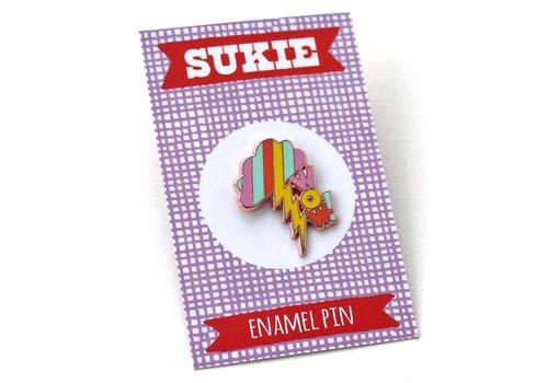 Sukie Sukie - WOW - Pin