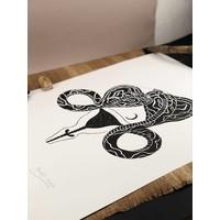 Hanako Mimiko - Cobra - Screen Print