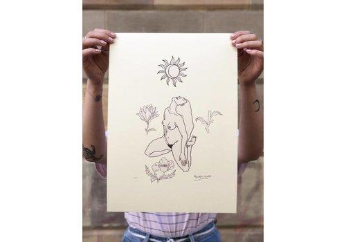 Hanako Mimiko Hanako Mimiko - Awake - A3 Print