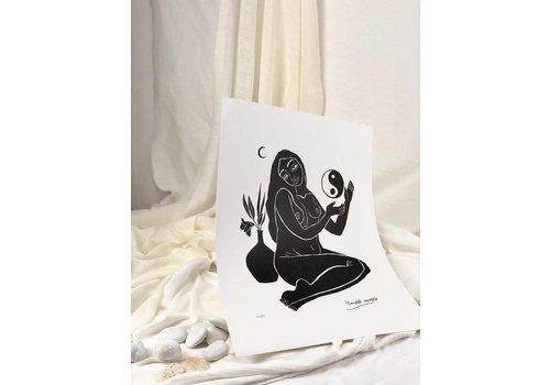 Hanako Mimiko Hanako Mimiko - Balance - A3 Print
