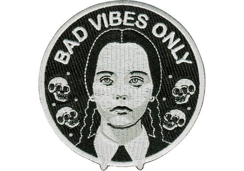 La Barbuda La Barbuda - Adams Family Bad Vibes Only - Patch