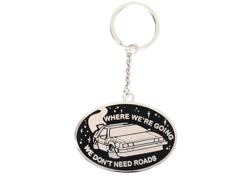 La Barbuda La Barbuda - Back To The Future - Delorean Keyring