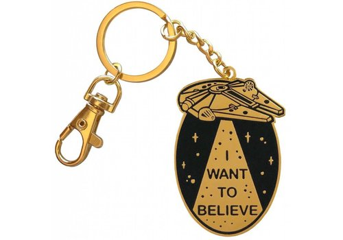 La Barbuda La Barbuda - I Want To Believe - Keychain