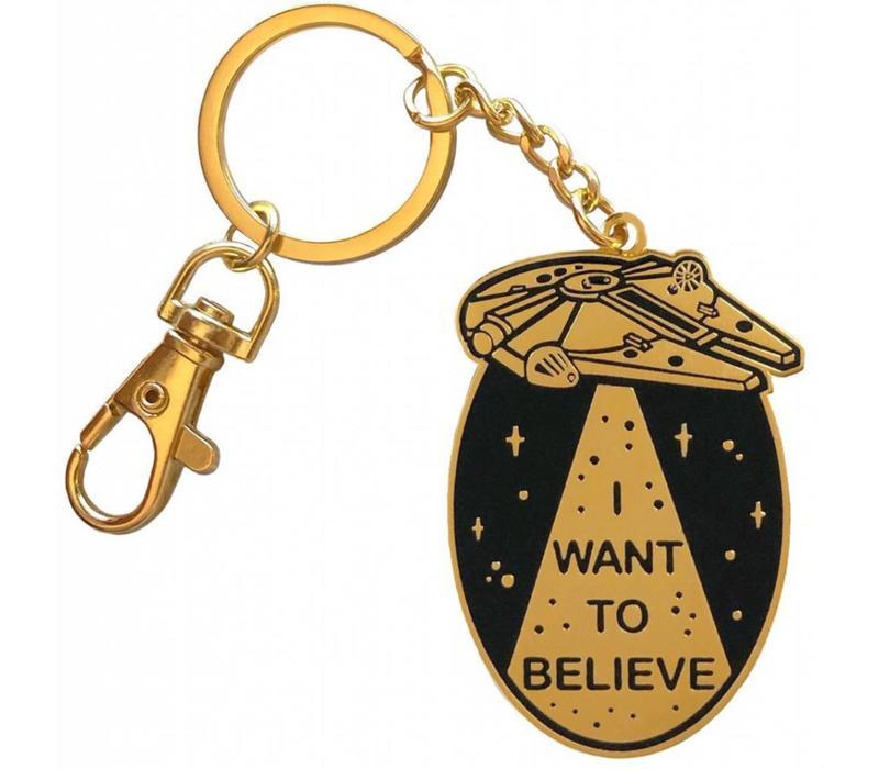 La Barbuda - I Want To Believe - Keychain