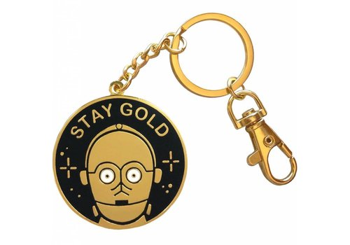 La Barbuda La Barbuda - Star Wars C3PO Stay Gold - Keychain