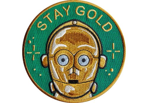La Barbuda La Barbuda - Star Wars C3PO Stay Gold - Patch