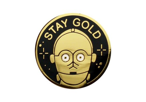 La Barbuda La Barbuda - Star Wars C3PO Stay Gold - Pin