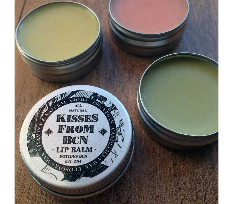 Potions - Kisses From Barcelona - Candelilla Wax Lip Balm