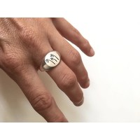 Michi Roman - Palm Trees Ring - Silver