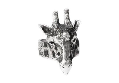 Michi Roman Michi Roman - Giraffe Ring - Silver