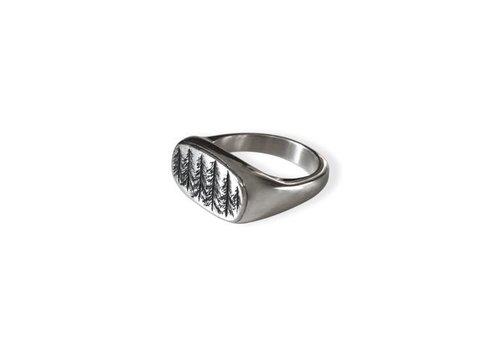 Michi Roman Michi Roman - Pine Trees Ring - Sterling Silver
