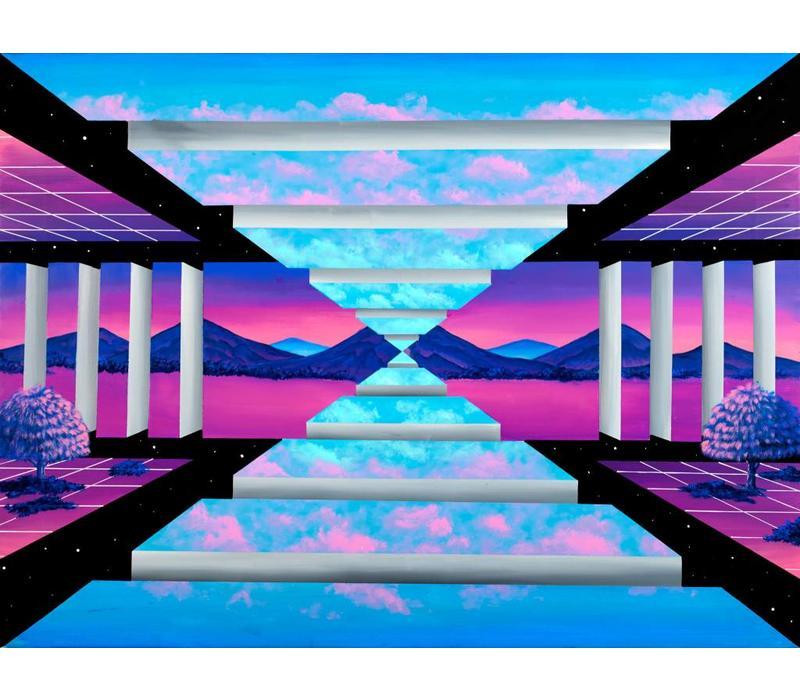 Irene Lopez - Lacerta - A3 Print