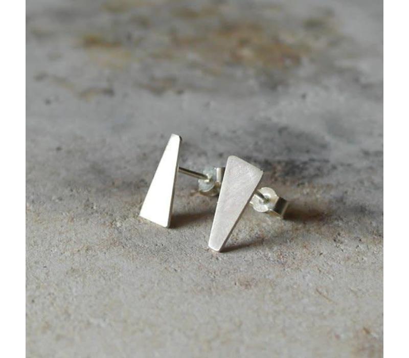 Âme Jewels - 3/4 Geometric Earrings - Silver