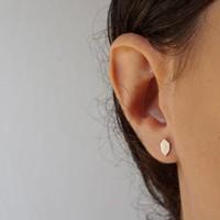Âme Jewels - Stud Earrings - Silver
