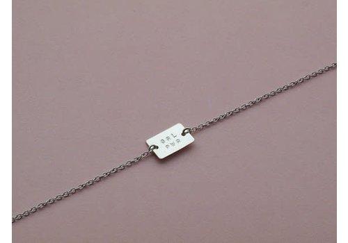 Âme Jewels Âme Jewels - Grl Pwr Bracelet - Silver
