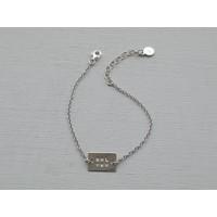 Âme Jewels - Girl Power Bracelet - Silver
