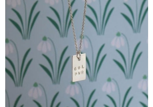 Âme Âme Jewels - Girl Power Necklace - Silver