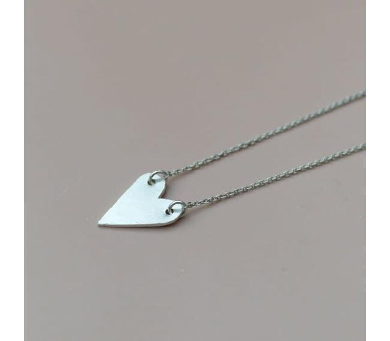 Âme Jewels - Heart Necklace - Silver