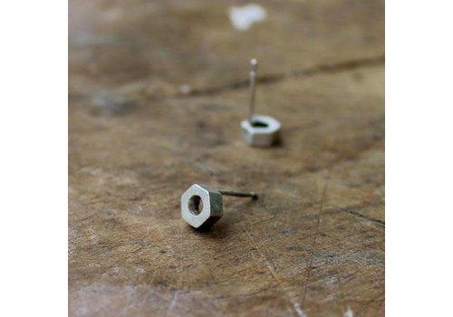 Âme Âme Jewels - Nuts Earrings - Silver