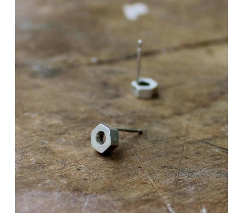 Âme Jewels - Nuts Earrings - Silver
