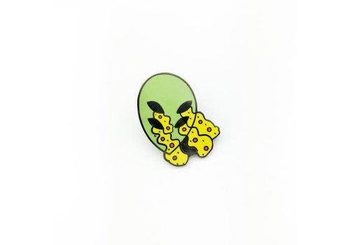 Metadope Metadope - Alien Eyes - Lapel Pin