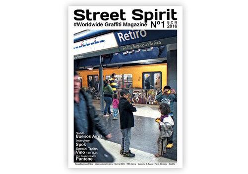 zosen Zosen - Street Spirit #1 - Graffiti Magazine