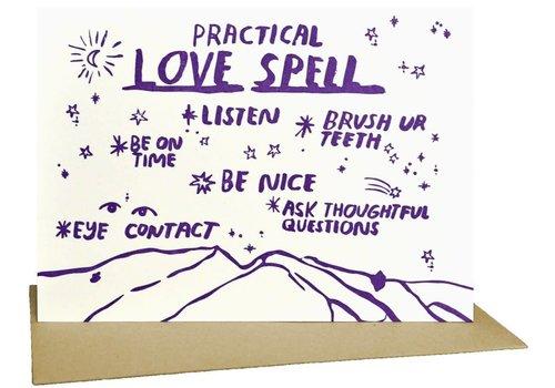 People I've Loved People I've Loved - Practical Love Spell - Greeting Card