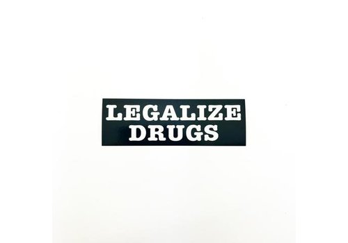 Metadope Metadope - Legalize Drugs - Sticker