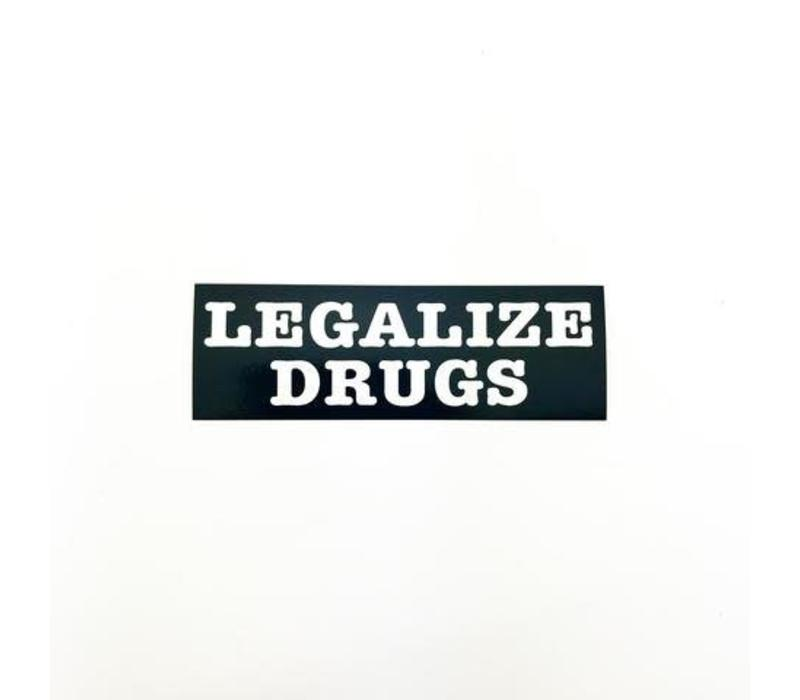 Metadope - Legalize Drugs - Sticker