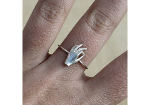 Âme Âme Jewels - Gyan Mudra Ring - Silver