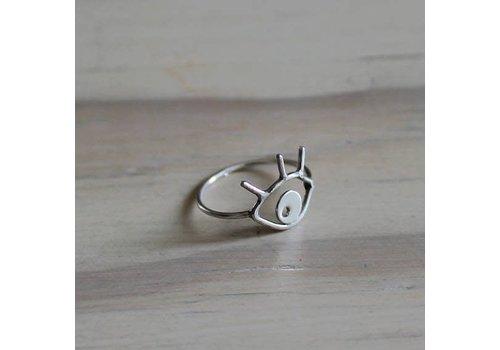 Âme Jewels Âme Jewels - Eye Ring - Silver